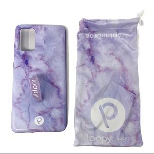 Loopy Case Samsung Galaxy S20+ Plus Purple Marble